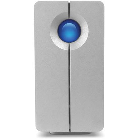 LaCie TB big Quadra Hard Disk Two Bay RAID Drive Up to MBs Transfer Rate USB rpm Rotational Speed 153 - 156