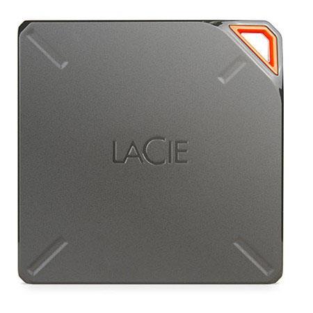 LaCie TB Fuel USB Wireless Storage Drive Wi Fi USB Connectivity Apple TV AirPlay Device Streaming En 65 - 427