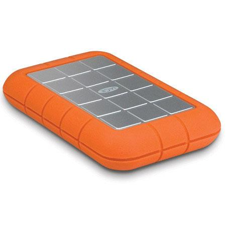 LaCie TB Rugged Triple Interface USB Portable Hard Drive FireWire and rpm Disk Speed Upto MBs Data T 24 - 712