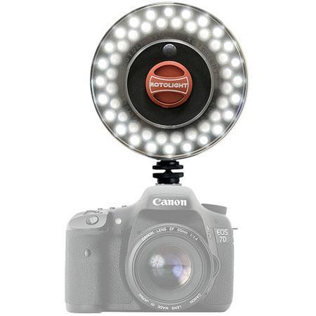 Rotolight RL B LED RingLight Stealth Edition Custom Lighting Gel Kit Filter Holder 99 - 708