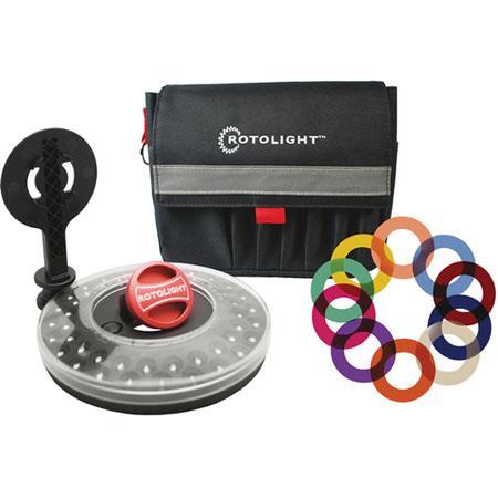 Rotolight RL CCK V Creative Color Kit V Rotolight RL B Stealth Rotolight Stand Color Filter Pack Acc 229 - 386