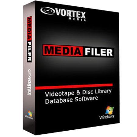 VorteMedia MediaFiler Tape Library Organizer Windows Multi user Network Version 55 - 349