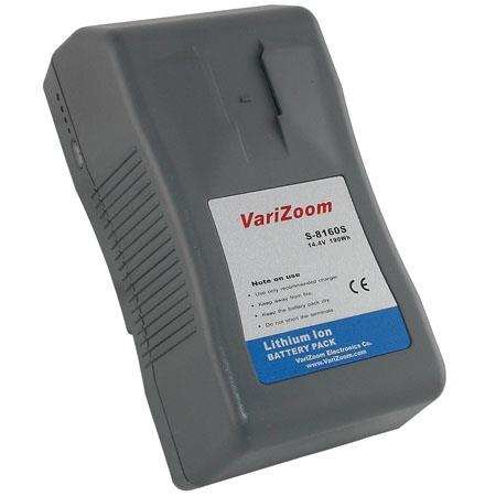 VariZoom Wh V Lithium Ion Rechargeable Battery V lock Mount 578 - 297