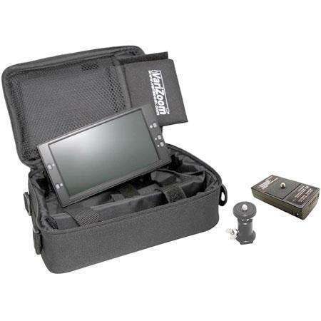 VariZoom VZ TFT U Ultimate On Camera Kit Monitor NTSCPAL Case M Battery Kit Shoe and Sunhood 236 - 219