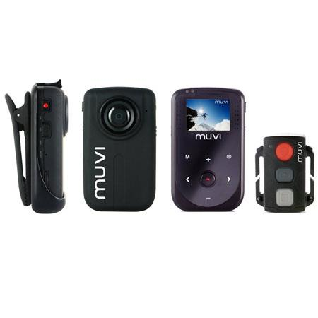 Veho VCC Muvi HD Muvi Full p HD Mini Camcorder GB Memory MP CMOS SensorDigital Zoom LCD Wireless Rem 66 - 593