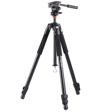 Vanguard Abeo AV Tripod QR Pan Head Leg Sections lbs Load Capacity Extended Height 177 - 93