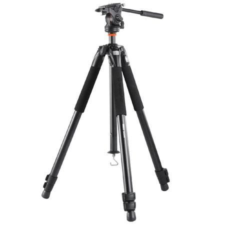 Vanguard Abeo AV Tripod QR Pan Head Leg Sections lbs Load Capacity Extended Height 91 - 217