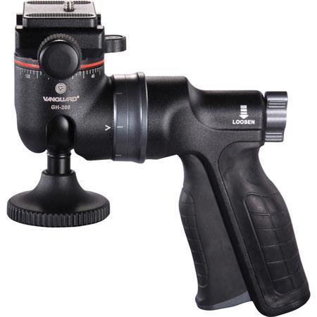 Vanguard GH Pistol Grip Ballhead Quick Release lb Load Capacity 38 - 279