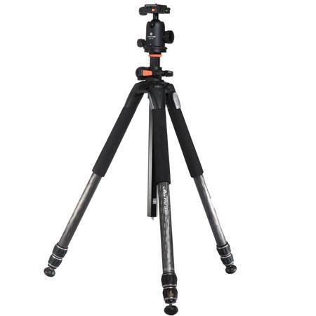 Vanguard CB Section Alta Pro CT Carbon Fiber Tripod Legs SBH QR Ballhead Maximum Height Supports lbs 78 - 299