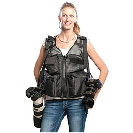 The Vest Guy Medium Wedding Photographer Vest Coyote Mesh 263 - 41