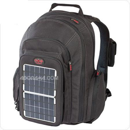 Voltaic Systems OffGrid Solar Backpack Removable Front Charging Panel W Solar Charger mAh Battery Fo 57 - 747