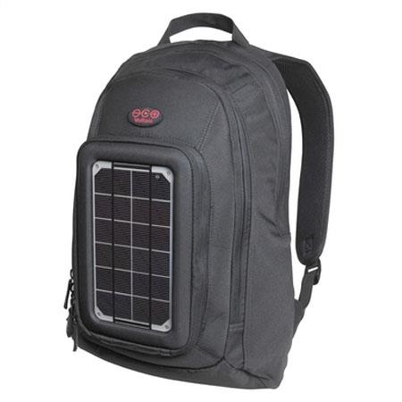 Voltaic Systems Converter Solar Backpack Laptop W Solar Power mAh Battery Capacity Charcoal 173 - 51