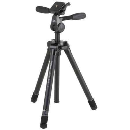 Velbon Ultra LUXi L Aluminum Tripod Quick Release PHD Q Way PanTilt Head Maximum Height Supports lb 69 - 258