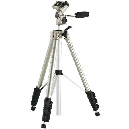 Velbon Maxi GB Mini Tripod Way Pan Head Case extends to folds to Weighs lbs and supports lbs 71 - 337