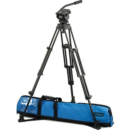 Vinten Vision Blue and Floor Spreader Kit Vision Blue Head Stage Aluminum Pozi Loc Tripod Floor Spre 52 - 503