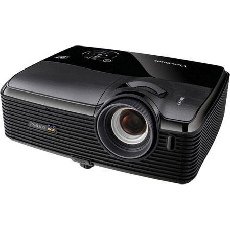 ViewSonic PRO p DLP HD Projector ANSI Lumens Brightness Contrast RatioOptical Zoom Built Speaker 101 - 144