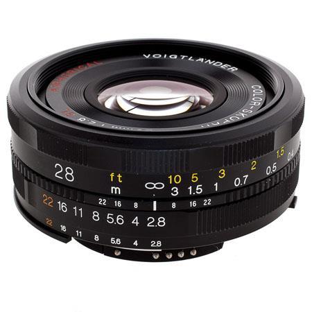 Voigtlander f SL II Aspherical Manual Focus Lens Nikon Film Digital Cameras 287 - 451
