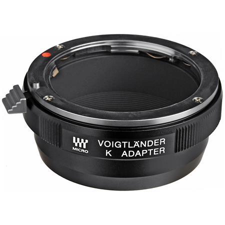 Voigtlander Micro Adapter using PentaK Lenses on Micro Cameras 82 - 570
