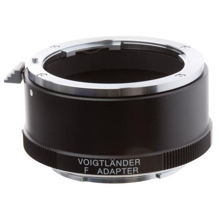 Voigtlander Nikon F Lens to Sony E Mount Body Adapter  132 - 298
