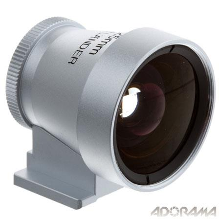 Voigtlander and Metal Viewfinder Silver 58 - 682