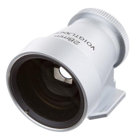 Voigtlander Metal Brightline Viewfinder the Lens Silver 58 - 682