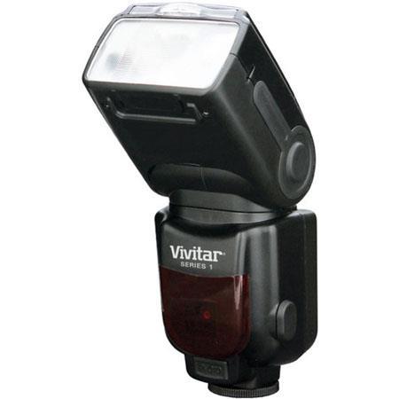 Vivitar DF Power Zoom DSLR Flash Nikon 26 - 372