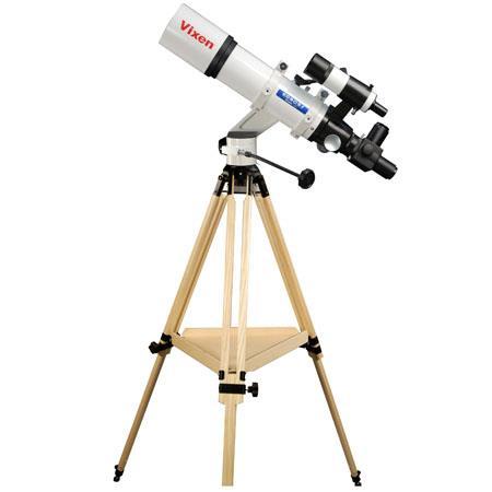 Vixen Optics EDSF Refractor Telescope Porta Mount Head and Berlebach Wood Tripod 49 - 700