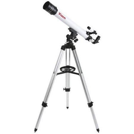 Vixen Space Eye M f Refractor TelescopeFinder PL and PLmm Eyepieces Altazimuth Mount Adjustable Trip 38 - 426