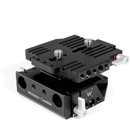 Wooden Camera Quick Base Sony FS Cameras 74 - 501