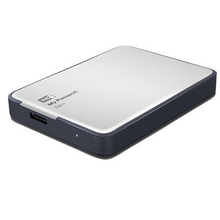 WD My Passport Slim TB USB External Pocket Hard Drive Gbs Data Transfer Rate USB  77 - 5