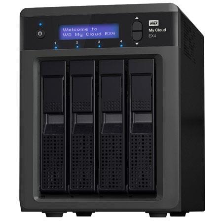 WD My Cloud EX Personal Cloud Storage Bay TB Hard Drive GHz MB RAM RAID Supported USB Ports 161 - 564