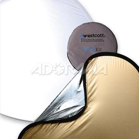 Westcott In Sunlight Refelector Kit SunlightSilver Diffuser Bounce Panels 69 - 519
