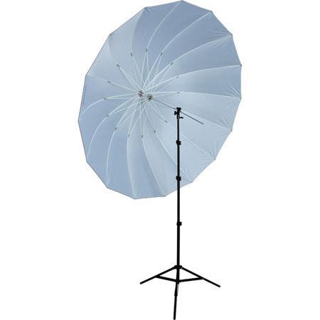 Westcott foot Soft Silver Parabolic Umbrella Speedlite Kit Adjustable Shoe Mount Bracket Travel Case 38 - 617