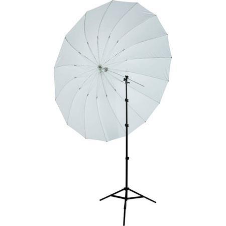 Westcott footBlack Parabolic Umbrella Speedlite Kit Adjustable Shoe Mount Bracket Travel Case foot L 38 - 617