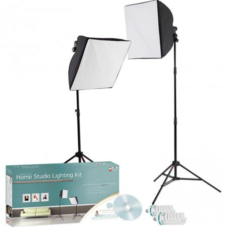 Westcott Erin Manning Home Studio Lighting Kit Constant Output uLites Softboxes Stands Bulbs Educati 102 - 353