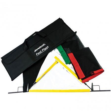 Westcott Fast FlagsKit Frames Fabrics and Storage Bag 74 - 189