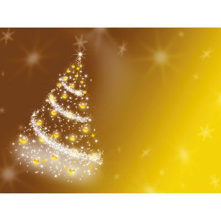 Westcott Photo BasicsHoliday Fantasy to Background Holiday Tree Scenic Cotton Muslin Background  237 - 557