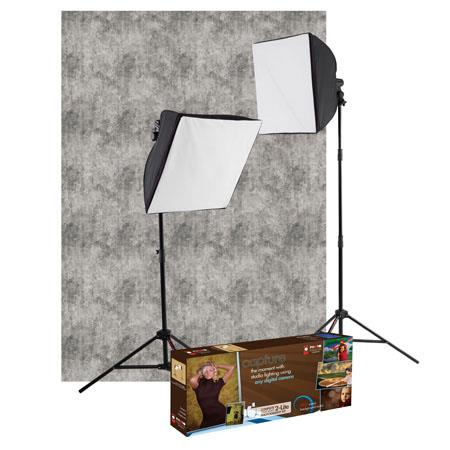 Westcott uLite Light Kit FREE Backdrop PLUS Scenic Backdrop Rental Coupon 199 - 113