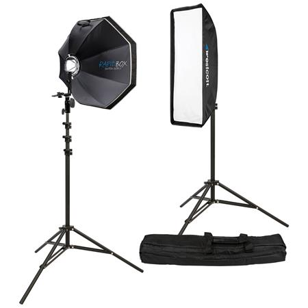 Westcott Rapid BoPortable Portrait Speedlite Kit Small Flashes 384 - 32