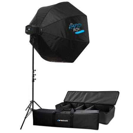 Westcott SkyluLED Light XL Kit Rapid BoDimming K Daylight Balance deg Beam Angle Lamp Life 165 - 126