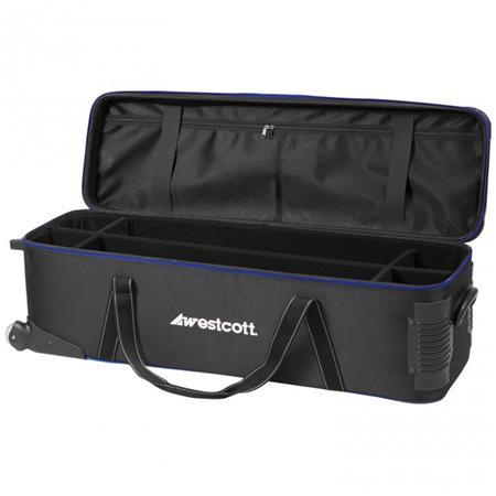 Westcott Spiderlite Deluxe Travel Case Wheels 264 - 795
