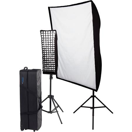 Westcott Spiderlite TD Perfect Portrait Two Light Fluorescent Kit Deluxe V Voltage 41 - 393
