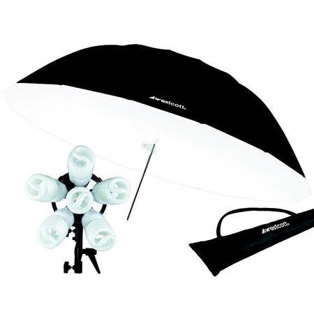 Westcott Spiderlite watt Daylight Spiderlite TD Parabolic Umbrella Kit 66 - 154