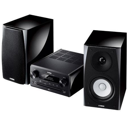 Yamaha MCR N Micro Component HiFi System cm Woofer cm Tweeter W W Power Output Hz kHz Frequency Resp 192 - 521