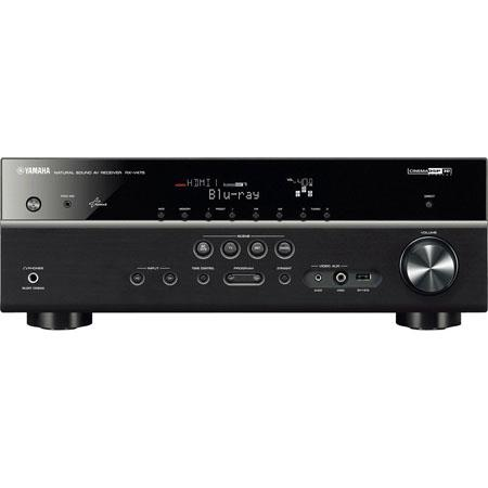 Yamaha RX VBL Channel Network AV Receiver W Center Output Power W Front Dynamic Power 94 - 100