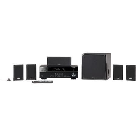 Yamaha YHT U Channel Network AV Home Theater a BoW Powered Subwoofer Discrete Amplifier Technology 78 - 653