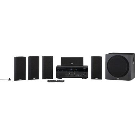 Yamaha YHT U Channel Network AV Home Theater W Powered Subwoofer Full Discrete Amp Configuration 143 - 692