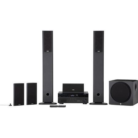 Yamaha YHT U Channel Network AV Home Theater System W Powered Subwoofer AV Controller App AirPlay St 50 - 301