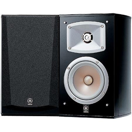 Yamaha NS way Watts Bookshelf Speaker Wall Mountable Magnetic Shielding New Grill Design Pair  120 - 253