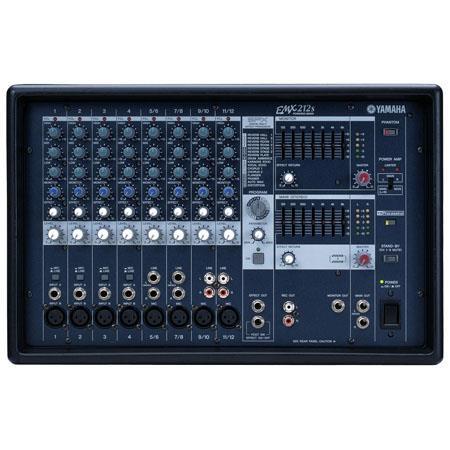 Yamaha EMXS Channel Stereo Powered Mixer Dual Watt Power Amplifiers XLR Inputs 98 - 429